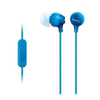 AURICULAR SONY IN EAR MDR-EX15AP AZUL