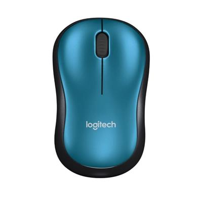 MOUSE LOGITECH M185 WIRELESS AZUL