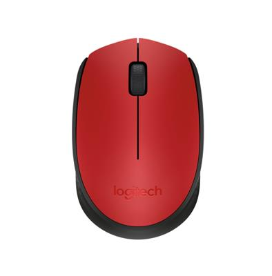 MOUSE LOGITECH M170 WIRELESS RED