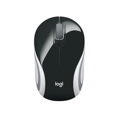 MOUSE LOGITECH M187 WIRELESS NEGRO/BLANCO
