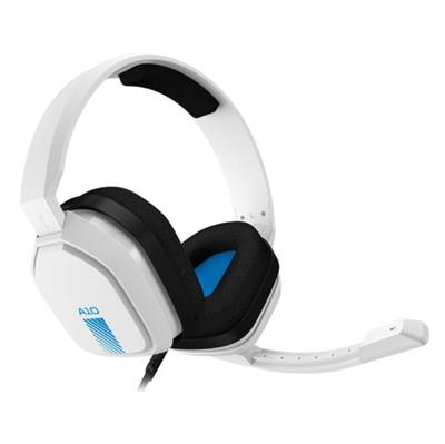 AURICULAR ASTRO GAMING A10  WHITE/BLUE c/MIC G/B PS4 XBOX NINT PC MAC