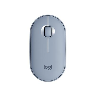 MOUSE LOGITECH M350 WIRELESS & BLUETOOTH BLUE