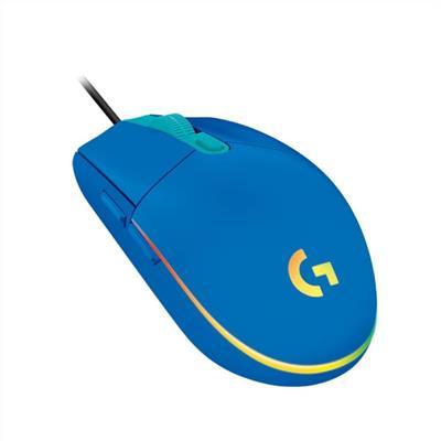 MOUSE LOGITECH G203 GAMING LIGHTSYNC BLUE