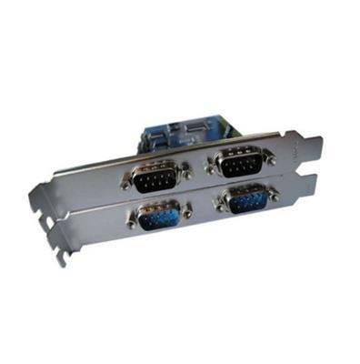 PLACA PCI-E a 4 SERIE DB9 RS232