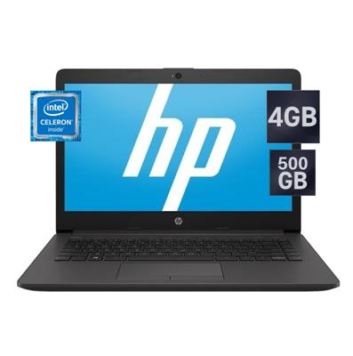 NOTEBOOK HP 240 G7 - CELERON N4000 - 4GB - 500GB -