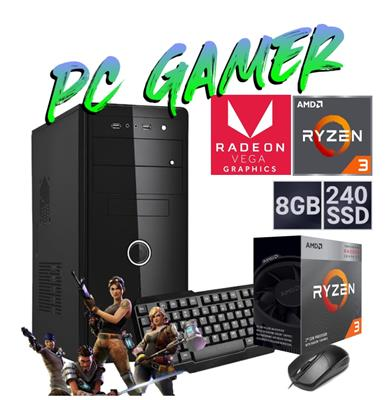 PC GAMER AMD RYZEN 3-3200G- 8GB - DISCO SOLIDO 480