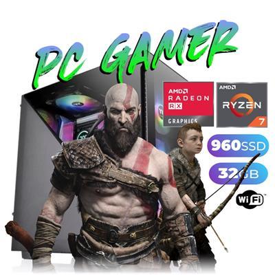 PC GAMER AMD RYZEN 5-3400G - 16GB - DISCO SOLIDO 4