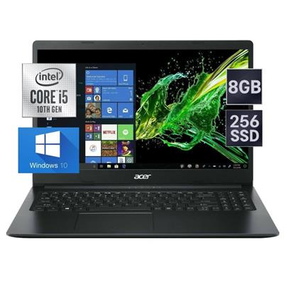 NOTEBOOK ACER ASPIRE 3  i5-1035G1- 8GB- SSD 256GB- 15,6