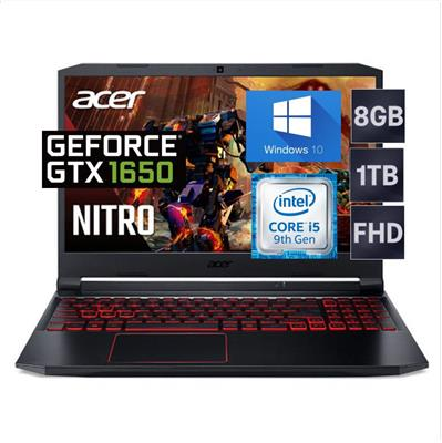 NOTEBOOK ACER NITRO 5  i5-9300H- 8GB-1TB- 15,6