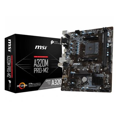 MOTHERBOARD MSI A320M PRO-M2 V2 (AM4)