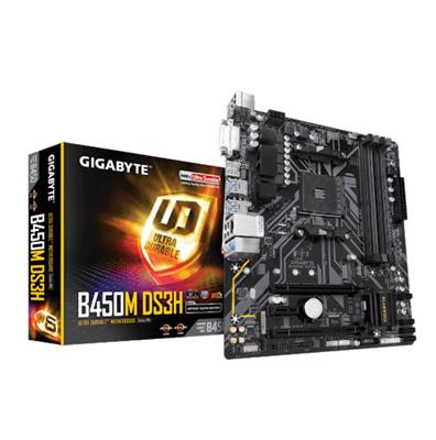 MOTHERBOARD GIGABYTE B450M DS3H M2 (AM4)