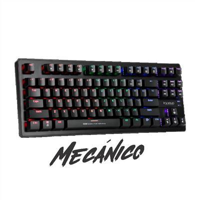 TECLADO MARVO MECANICO COMPACTO KG901 USB RGB