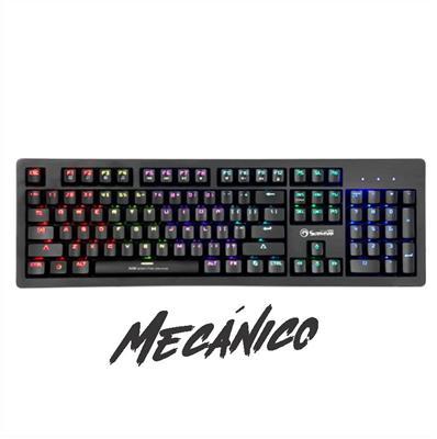 TECLADO MARVO MECANICO KG916 USB RGB