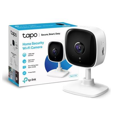 CAMARA IP TP-LINK TAPO C100 1080P - WIFI - VISION NOCTURNA - SD