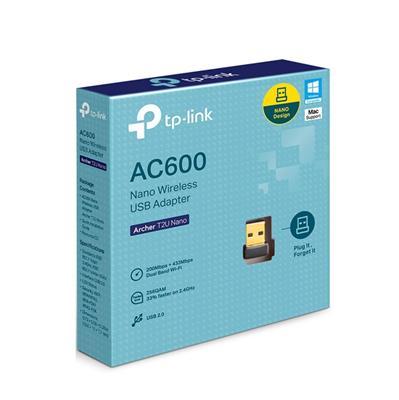 ADAPTADOR USB WIFI TP-LINK ARCHER T2U AC600 DUAL BAND