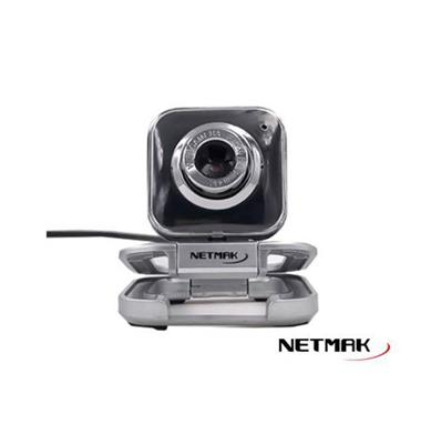 WEBCAM NETMAK CON MICROFONO 480P - RESOLUCION 640X