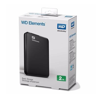 DISCO RIGIDO EXTERNO 2TB WD ELEMENTS