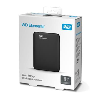 DISCO RIGIDO EXTERNO 1TB WD ELEMENTS