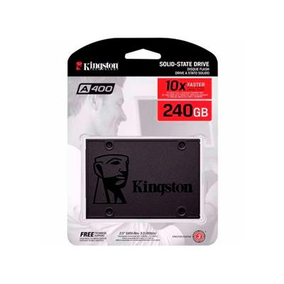 DISCO SOLIDO SSD 240GB KINGSTON A400  PLUS 10X FAS