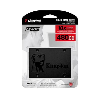 DISCO SOLIDO SSD 480GB KINGSTON A400  PLUS 10X FASTER