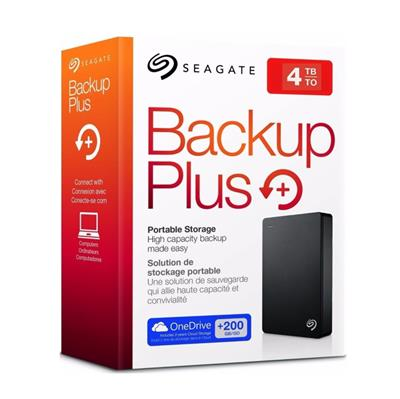DISCO RIGIDO EXTERNO 4TB SEAGATE BACKUP PLUS