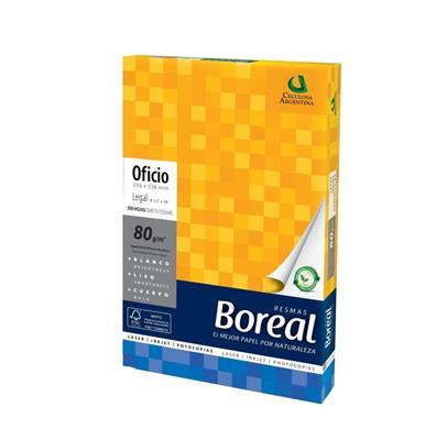 RESMA BOREAL OFICIO 80GRMS