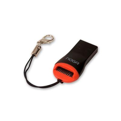 LECTOR DE TARJETA MEMORIA MICRO SD LLAVERO NOGA USB