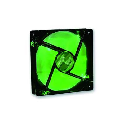 COOLER GAMER NOGA GREEN LED 120X120X25MM 4 LEDS 1200RPM