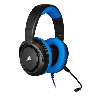 AURICULAR CORSAIR HS35 STEREO BLUE 3.5mm