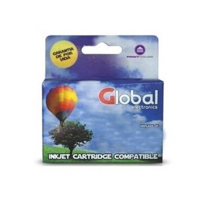 CARTUCHO GLOBAL HP 60 COLOR 20ML XL