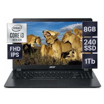 NOTEBOOK ACER ASPIRE 3 INTEL I3-1005G1 - 8GB - SSD240 - 1TB - 15,6