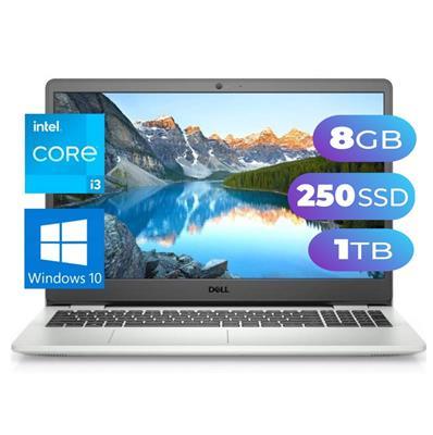 NOTEBOOK DELL  3501 Micro I3-1115G4 - 8GB - SSD 240GB -  1TB - 15,6
