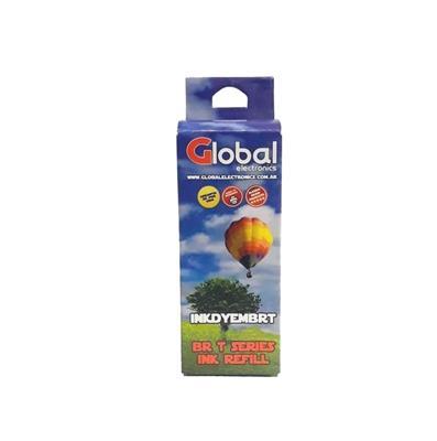 TINTA GLOBAL P/BROTHER YELLOW 50ML
