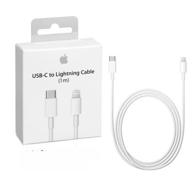 CABLE CARGADOR IPHONE APPLE LIGHTNING A USB-C 1 MTS