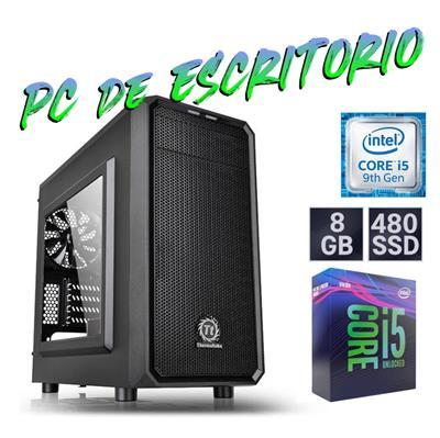 PC DE ESCRITORIO INTEL i5 9600K - 8GB - SSD 480GB - FREEDOS