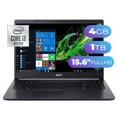 NOTEBOOK ACER ASPIRE 5  INTEL i3-10110U- 4GB - 1TB - 15,6