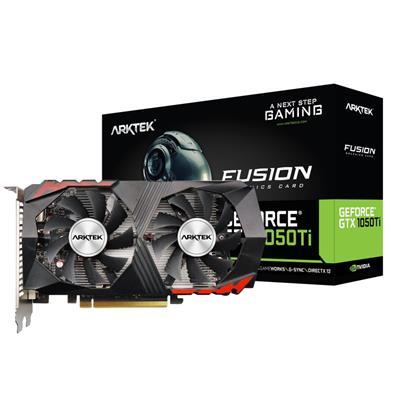 PLACA DE VIDEO ARTEK GEFORCE GTX 1050TI 4GB DDR5 FUSION