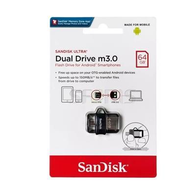 PEN DRIVE SANDISK 64GB DUAL DRIVER m3.0 SMARTPHONES