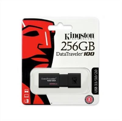 PEN DRIVE KINGSTON 256GB DATATRAVELER 100 G3