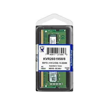 MEMORIA SODIMM DDR4 8GB 2666 MHz KINGSTON
