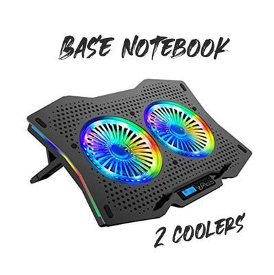 BASE NOTEBOOK 2 COOLER NISUTA INCLINABLE NS-CN95G