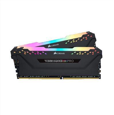MEMORIA DDR4 32GB (2X16) 2666 MHz  CORSAIR VENGEANCE RGB PRO