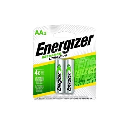 PILA AA RECARGABLE ENERGIZER X 2 UNID.