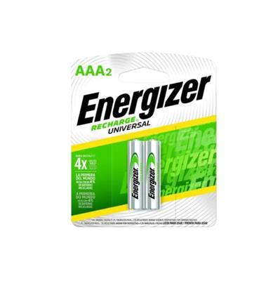 PILA AAA RECARGABLE ENERGIZER X 2 UNID.