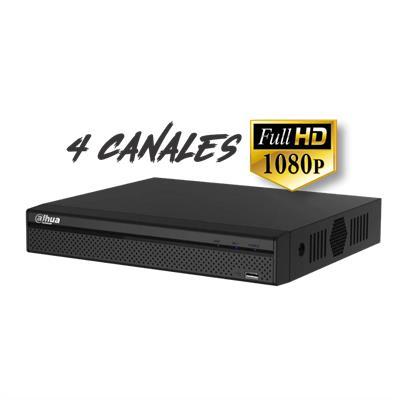 DVR DAHUA HDCVI FIVEBRID 4 CANALES 1080p 1HDD DHI-XVR5104HS