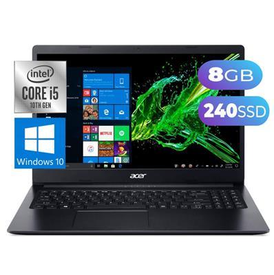 NOTEBOOK ACER ASPIRE 3  INTEL i5-1035G1- 8GB- SSD 240GB - 1TB- 15,6