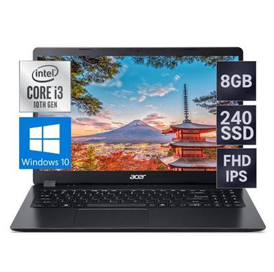 NOTEBOOK ACER ASPIRE 3 INTEL I3-1005G1 - 8GB - SSD 240GB - 1TB - 15,6